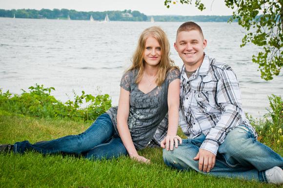 Maple Grove MN Engagement Photographer