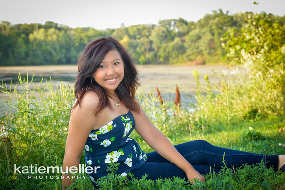 Edina, MN High School Senior Portrait Photographer